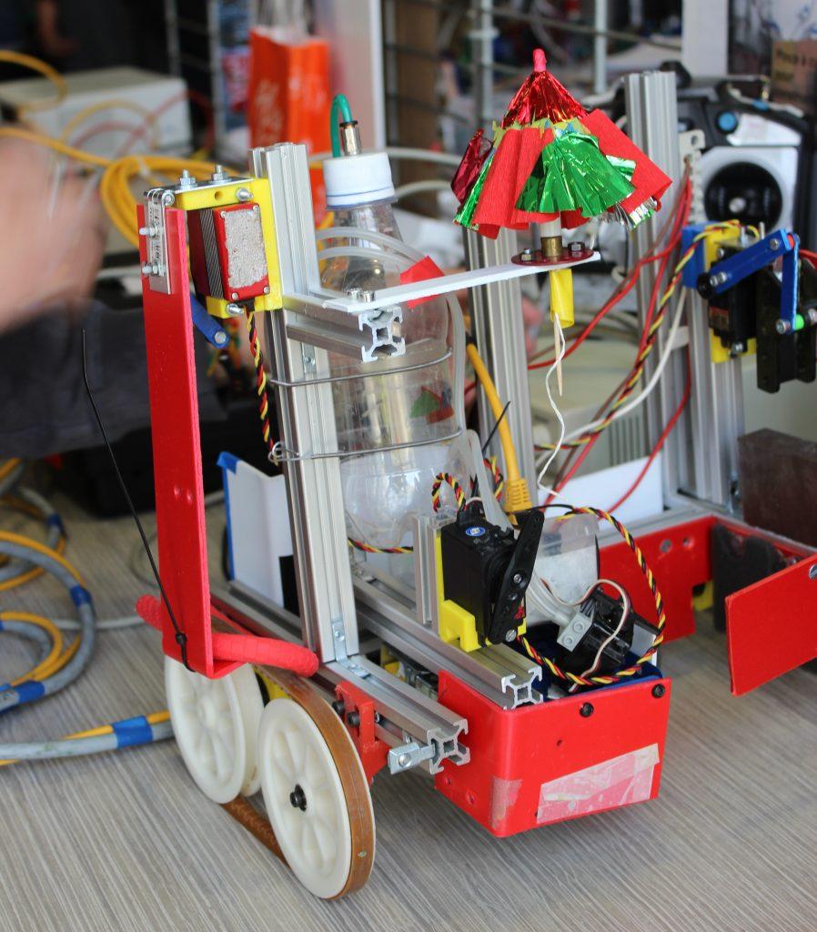 Un robot Trophées de 2016
