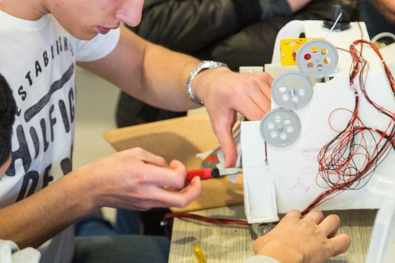 Construction d'un robot