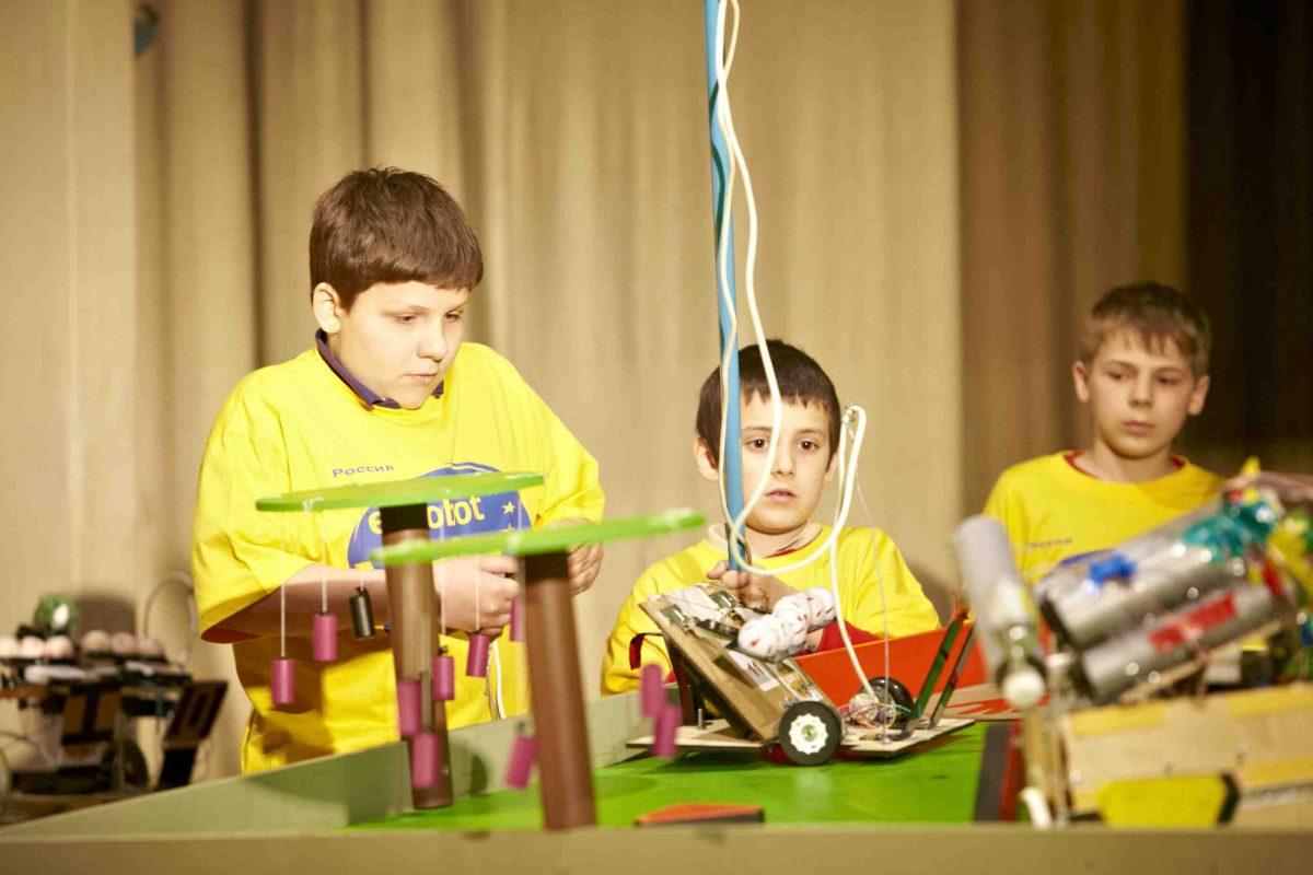 Finale russe d'Eurobot Junior 2014